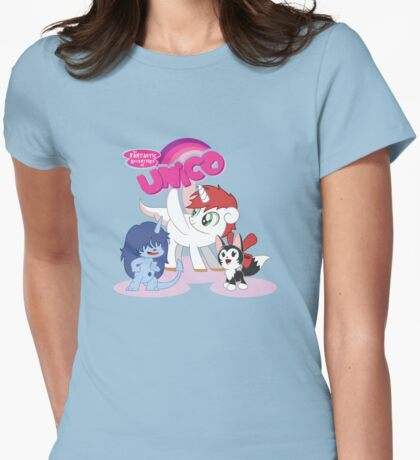 My Little Unico Womens Fitted T-Shirt