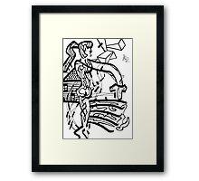 002 Framed Print