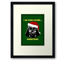 Father Christmas. Framed Print