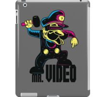 MR. VIDEO iPad Case/Skin