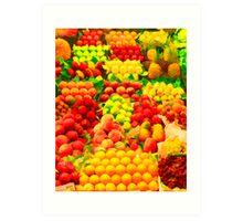 Fruit Shoppe Art Print