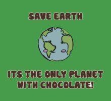 Save the chocolate Kids Tee