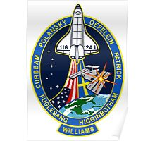STS-116 Mission Logo Poster