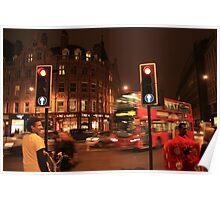 London / Buses, England, UK * Poster