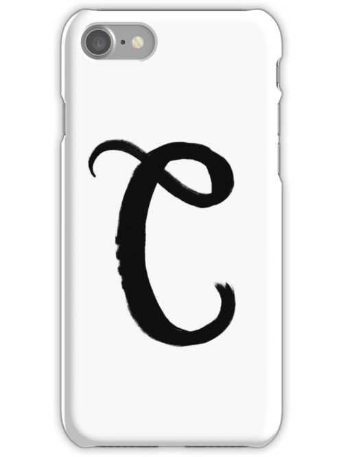 The Letter C by alphabeautiful