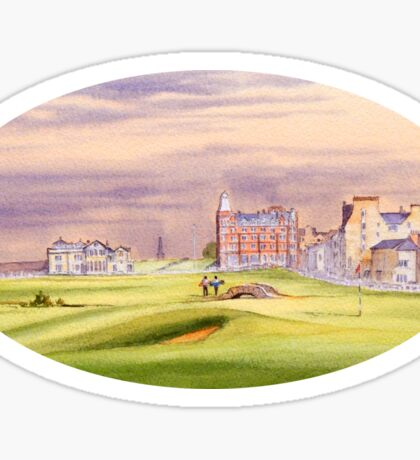 St Andrews Golf Course - 17th Green Sticker