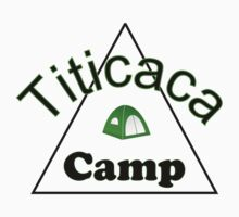 Titicaca camp ground funny campy trucker tee by tia knight