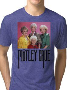 Golden Girls Girls Girls Metal Tee Tri-blend T-Shirt
