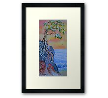 Forgotten Cliff Framed Print