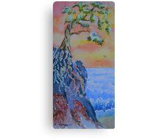 Forgotten Cliff Canvas Print