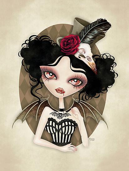 Countess Nocturne by sandygrafik