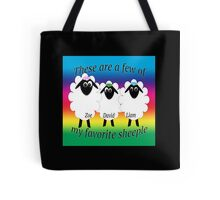 These are a few of my favorite sheeple Tote Bag