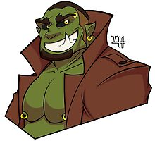Orc Detective by hufpup
