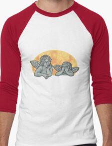 Weeping Cherubs Men's Baseball ¾ T-Shirt