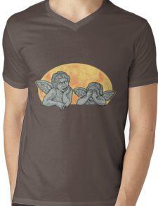 Weeping Cherubs Mens V-Neck T-Shirt