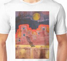 Pueblito original painting Unisex T-Shirt