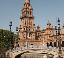 Plaza de España, Seville, Spain by Justin Mitchell