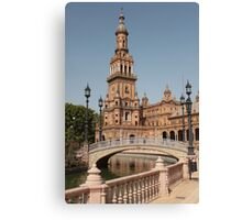Plaza de España, Seville, Spain Canvas Print
