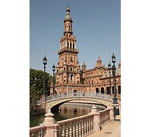 Plaza de España, Seville, Spain Photographic Print