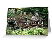 Monster rock Greeting Card