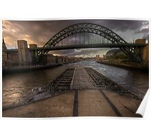 Bridges over the Tyne  Poster