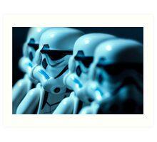 Lego Storm Troopers Art Print