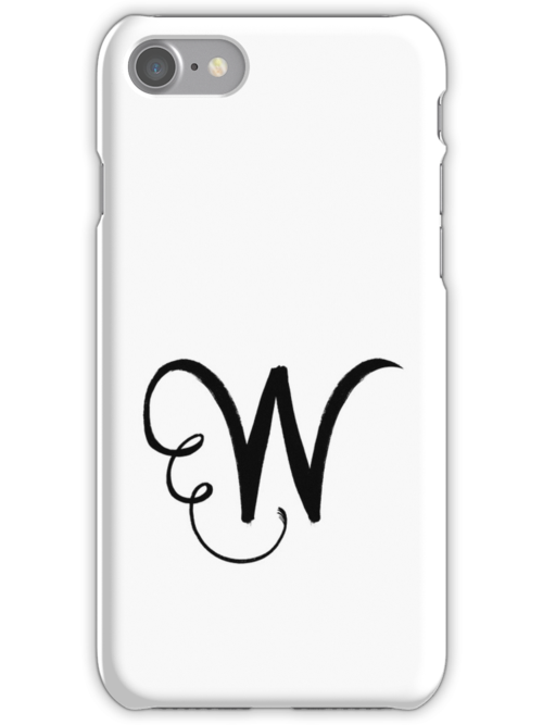 The Letter W by alphabeautiful