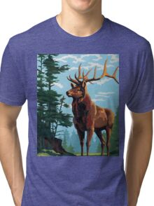 Elk Country Tri-blend T-Shirt