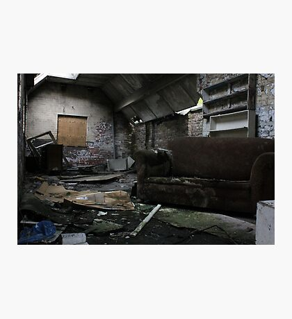 Abandoned House - Urban Decay Photographic Print