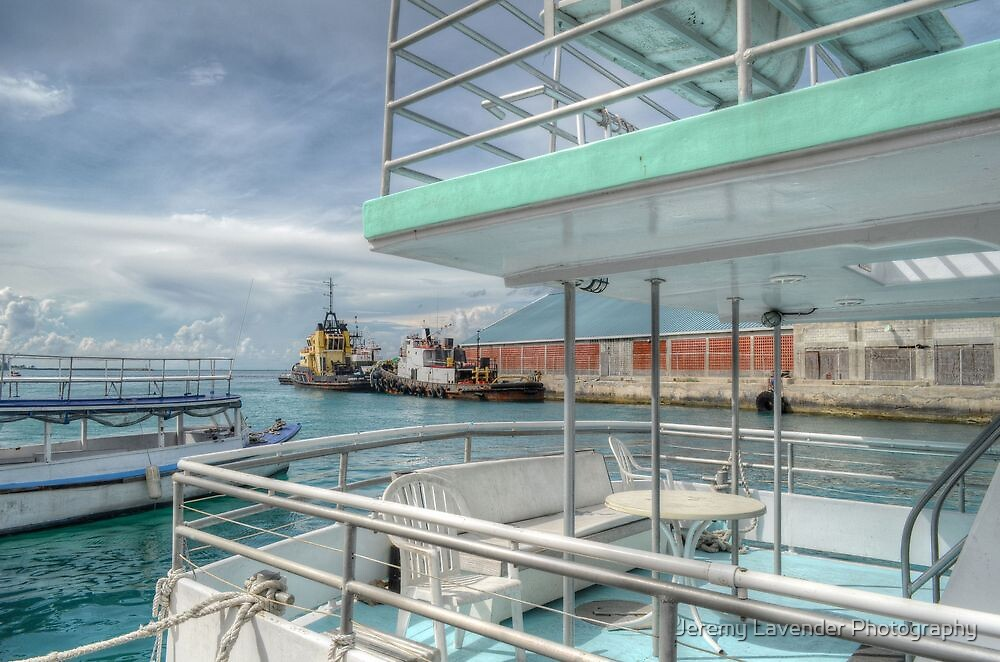 The Port at Prince George Wharf in Nassau, The Bahamas by Jeremy Lavender Photography