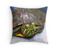 Tanning Throw Pillow
