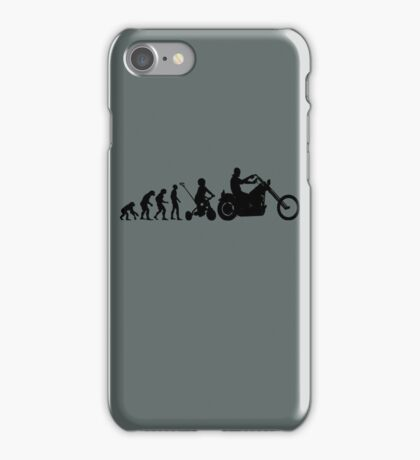 Motorcycle Evolution iPhone Case/Skin