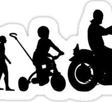 Motorcycle Evolution Sticker