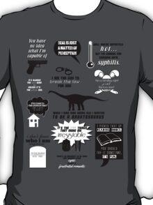 Peter Bishop Quotes T-Shirt