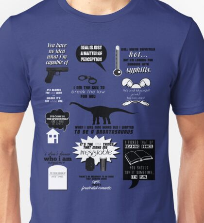 Peter Bishop Quotes Unisex T-Shirt