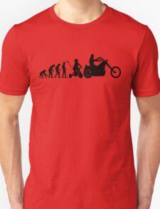 Motorcycle Evolution Unisex T-Shirt