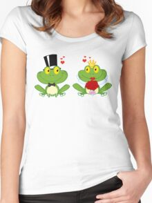 Just Married Women's Fitted Scoop T-Shirt