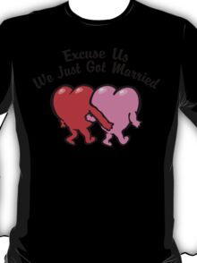Funny Just Married T-Shirt
