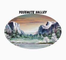 Yosemite Valley Artist Point Kids Tee