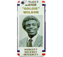 Back to the futures Re elect Goldie iPhone Case/Skin