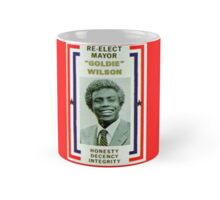 Back to the futures Re elect Goldie Mug