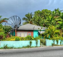 House on Mount Royal Avenue in Nassau, The Bahamas by Jeremy Lavender Photography