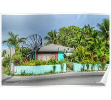 House on Mount Royal Avenue in Nassau, The Bahamas Poster