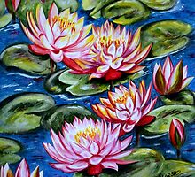 Water Lilies by Harsh  Malik