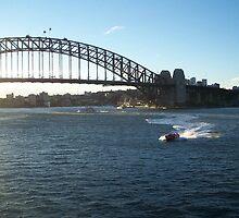 Sydney Bridge by RachelBobby