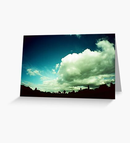 Mother Sky Greeting Card