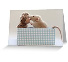 Poppy and friend Greeting Card