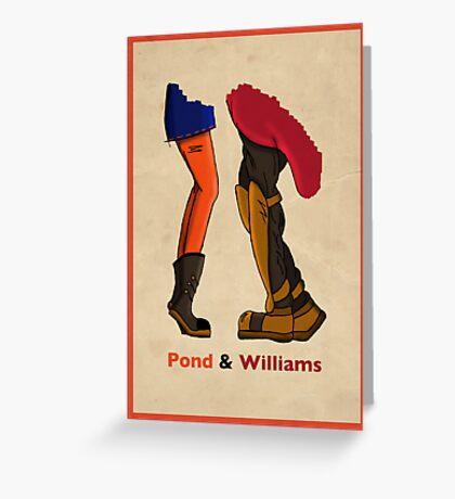 Pond & Williams Greeting Card