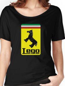 The Lego Ferrari Logo Women's Relaxed Fit T-Shirt