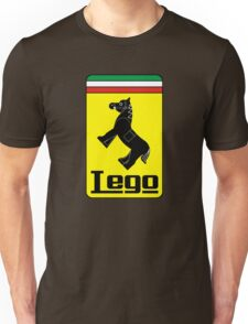 The Lego Ferrari Logo Unisex T-Shirt